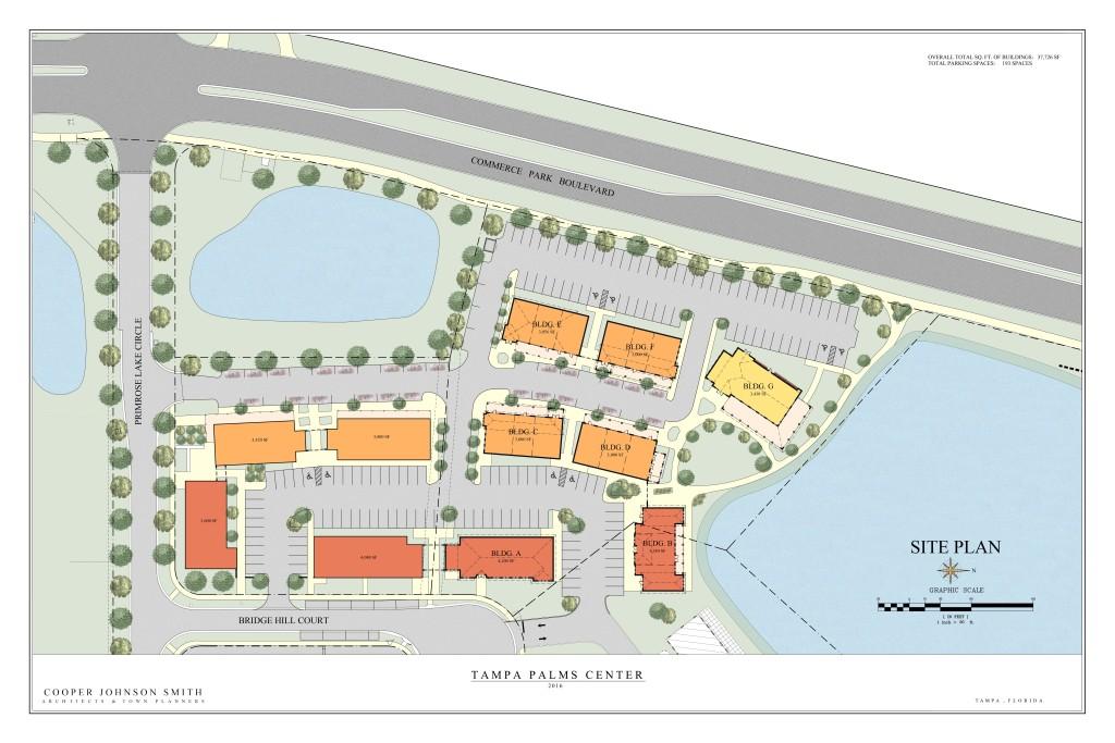 Tampa Palms Professional Center Site Plan